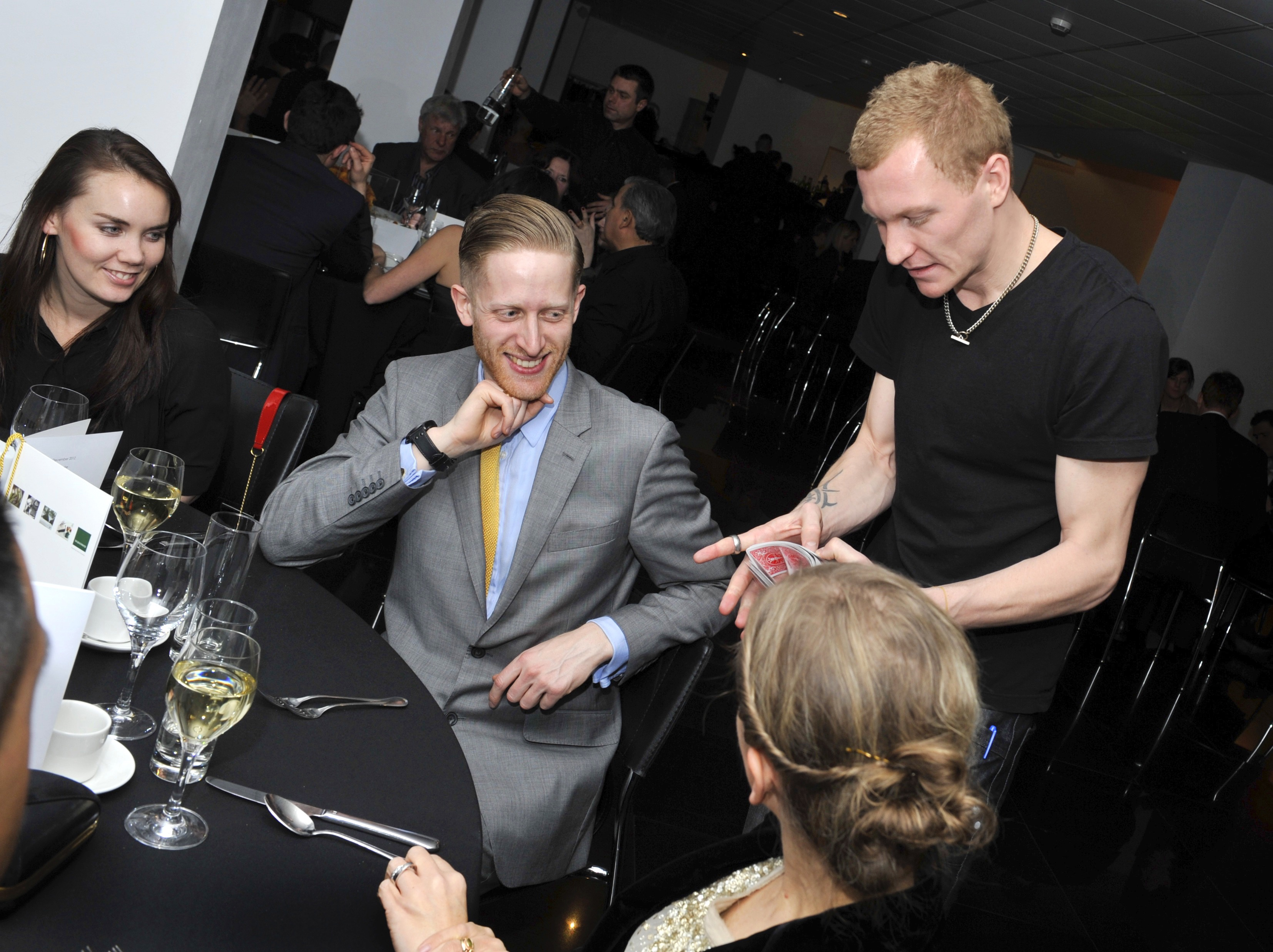 Liam Walsh Magic London Magician Performance Full Circle Christmas Party
