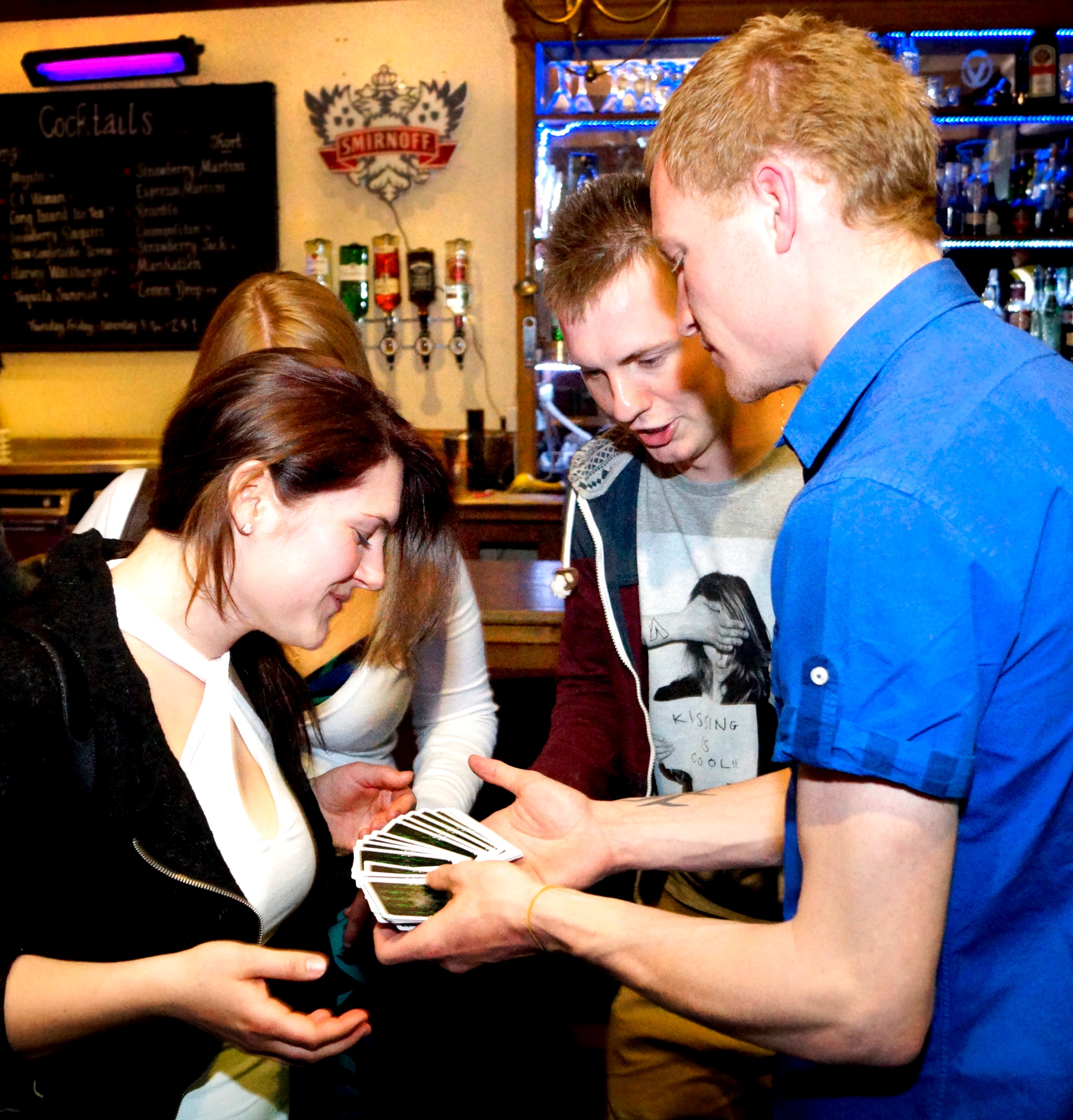 Liam Walsh Magic Nightclub Performance Magician Sound Event Party Crowds Tricks