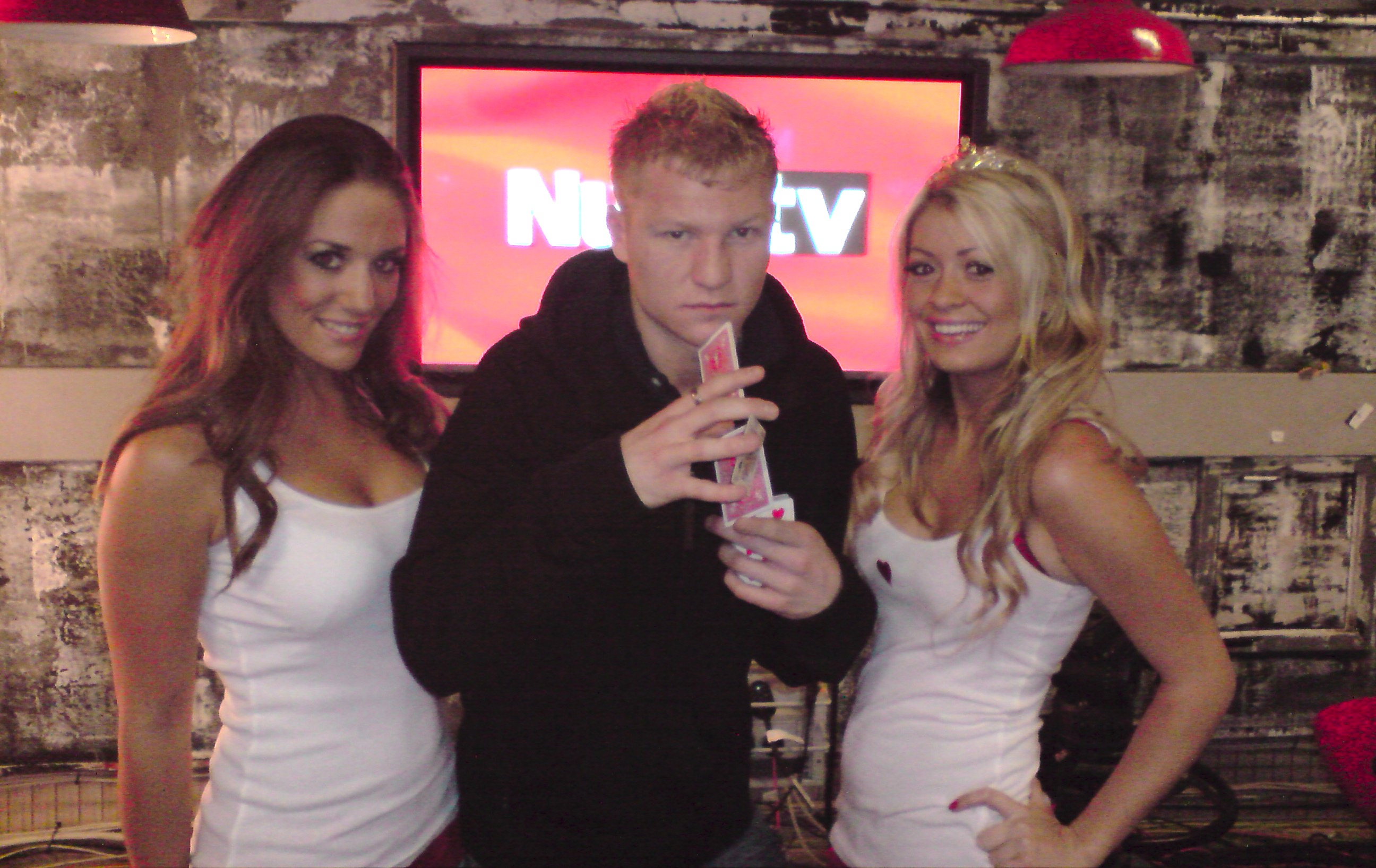 Liam Walsh Magic Nuts TV Girls Magician Tricks Television Performance